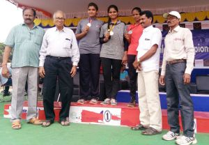 4th Telangana state inter district senior and youth Athletic Championship 2018